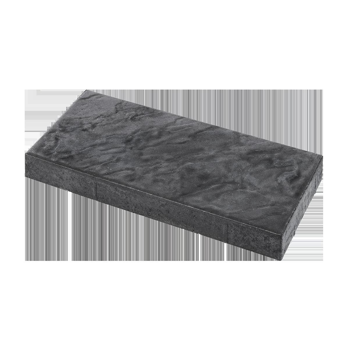 Skiferpræg 30x60x6 cm Sort/Antracit