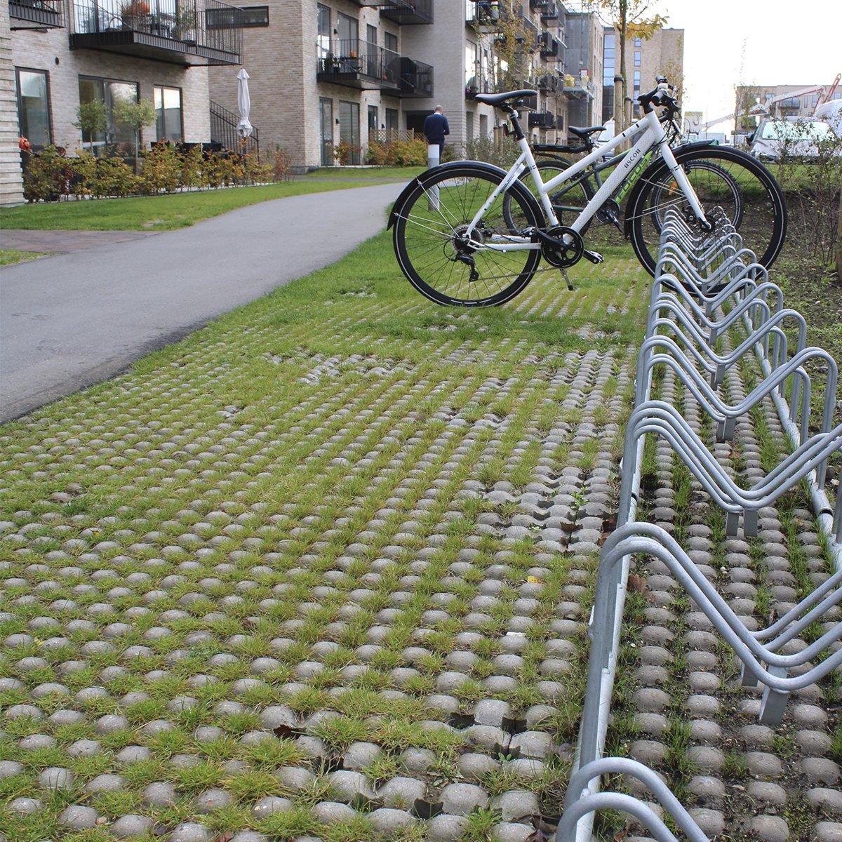 SF-Klostersten® græsarmering grå