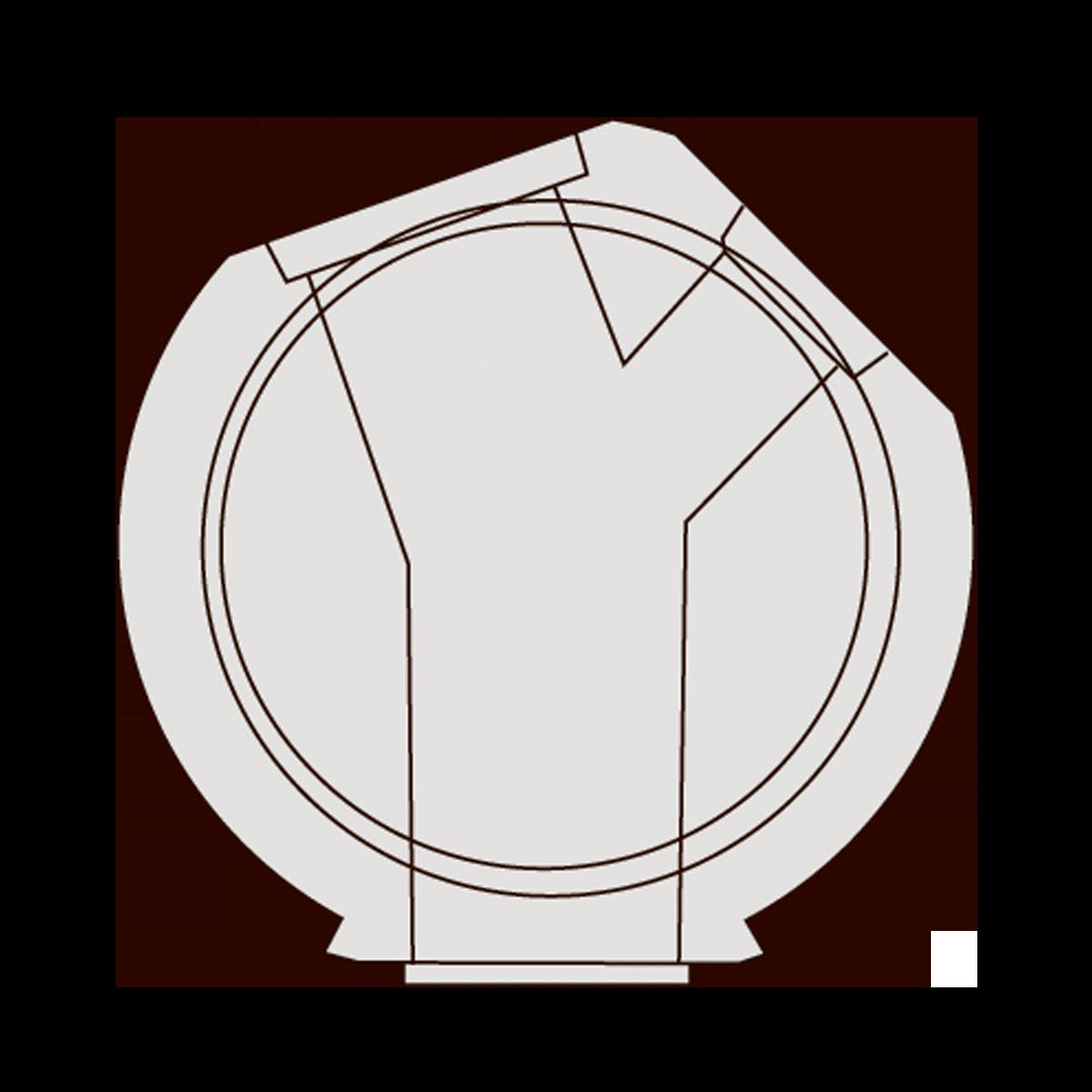 200 cm Drejebrønd, gls