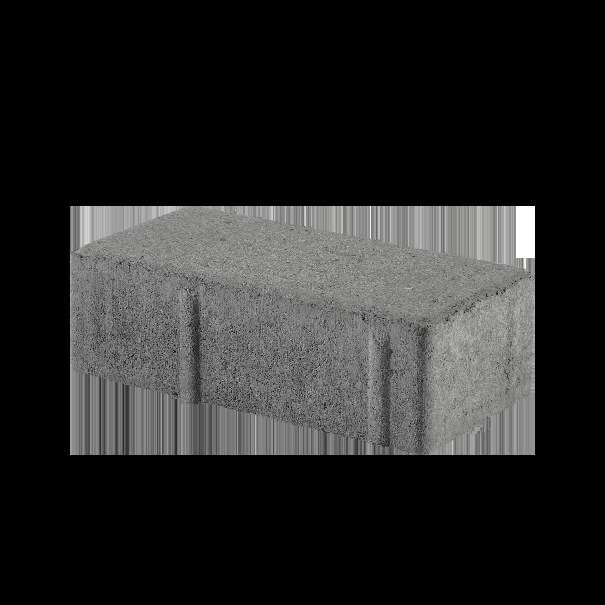 Modulserien 10x20x6 cm Sort/Antracit Normalsten