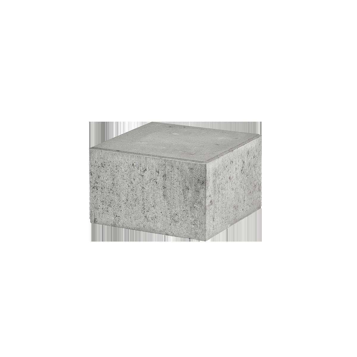 Trappetrin 30x30x18 cm Grå Lige kant