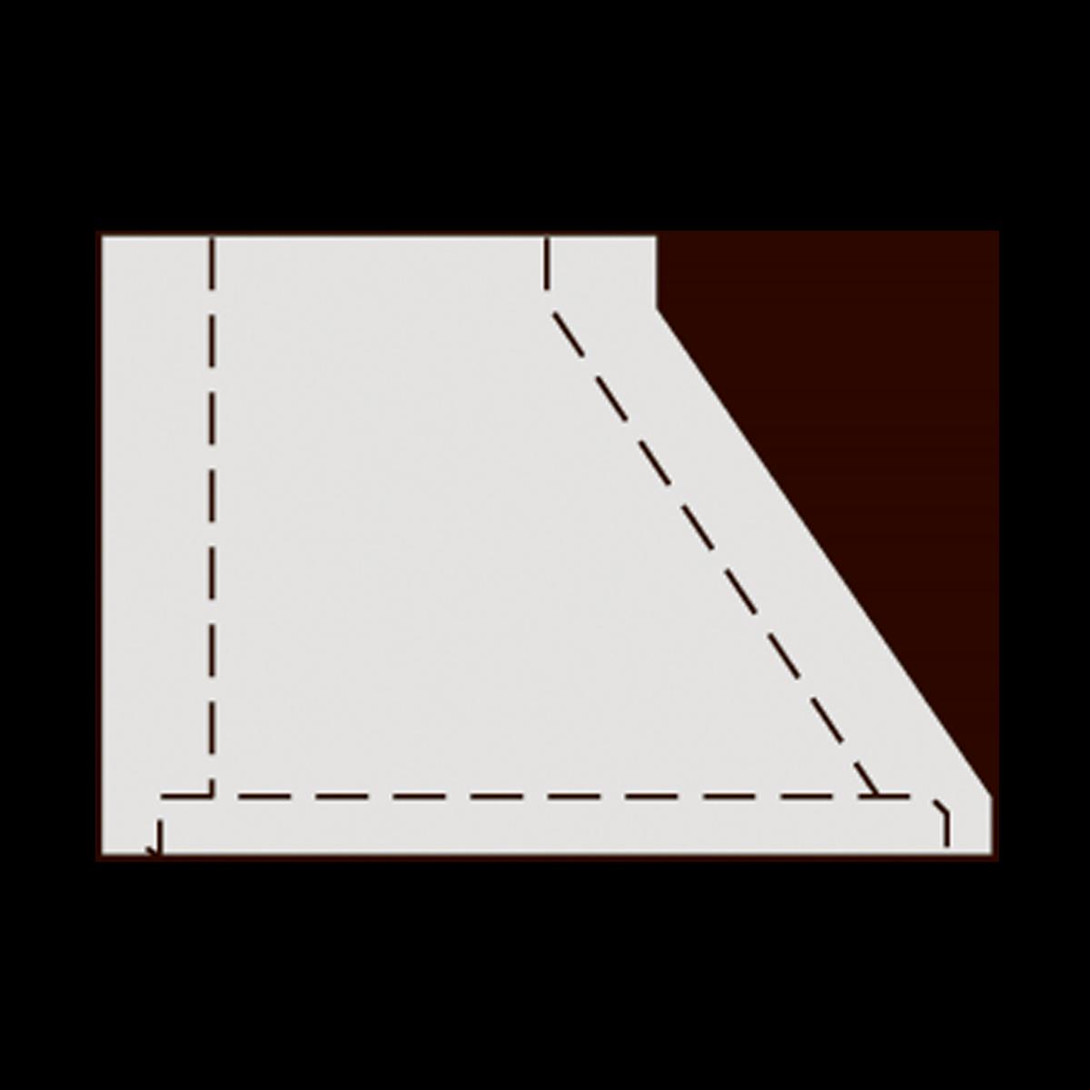 60 cm brøndkegle, gls